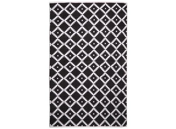 Koberec Parma - čierna/biela, textil (160/230cm) - Mömax modern living