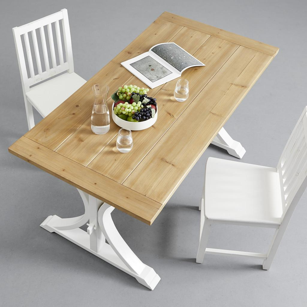 Jedálenský Stôl Camden 160x80 Cm