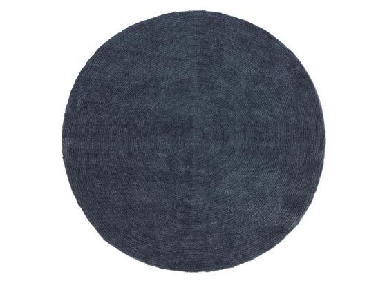 Teppich Blanca Ø 150 cm - Anthrazit, Textil (150cm) - James Wood