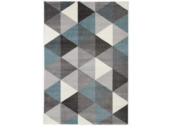Tkaný Koberec Rom 1 - modrá/sivá, textil (80/150cm) - Mömax modern living