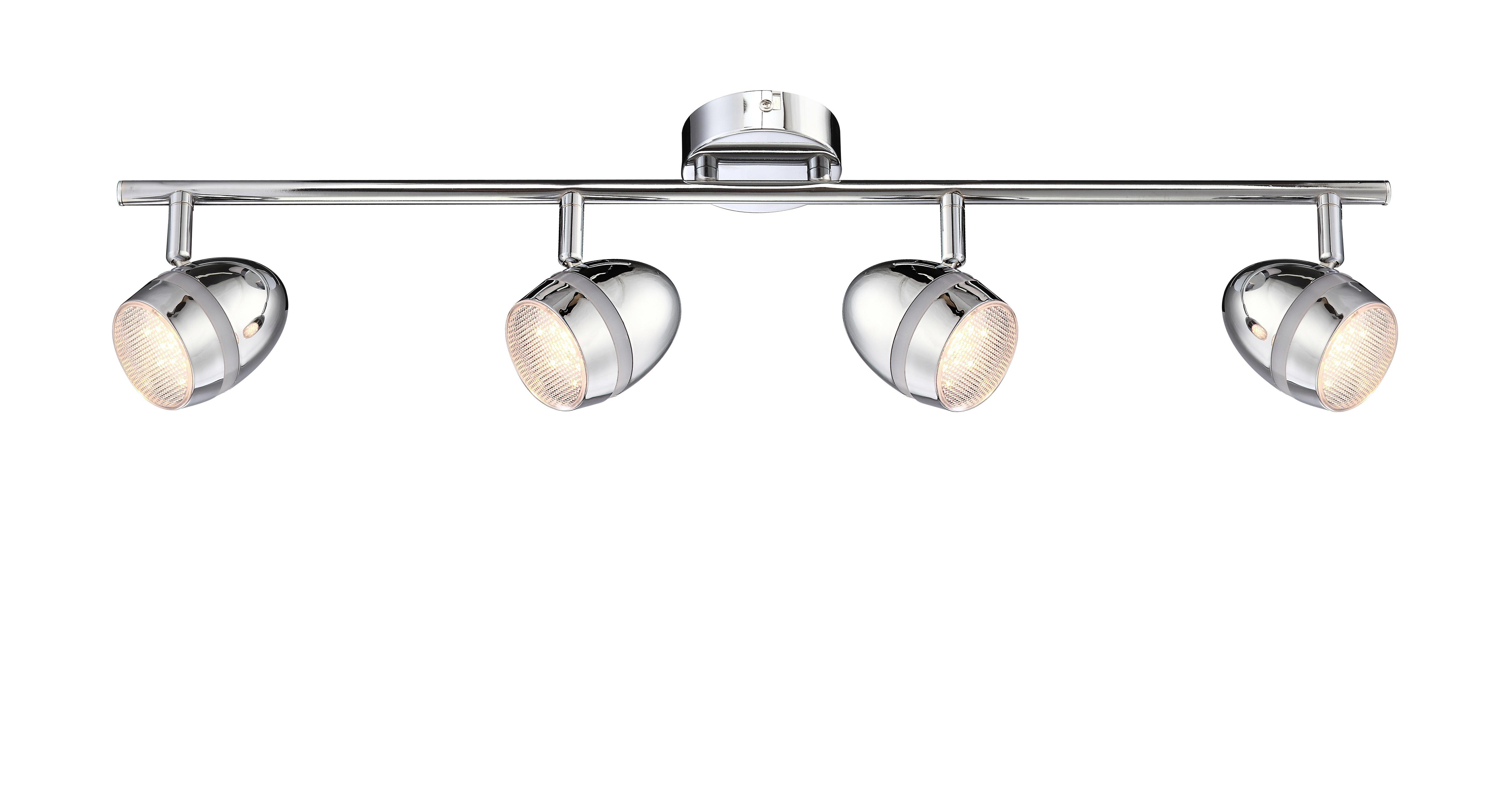 Strahler Manjola - KONVENTIONELL, Kunststoff/Metall (66/8,5/16,2cm)