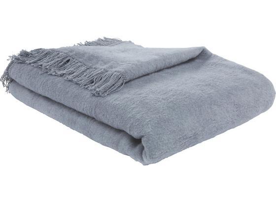 Přikrývka El Sol - světle šedá, textil (150/200cm) - Mömax modern living