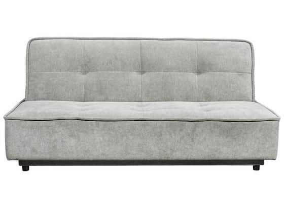 Schlafsofa Delia B: ca. 206 cm - Schlammfarben/Schwarz, MODERN, Holzwerkstoff/Textil (206/95/95cm) - Carryhome