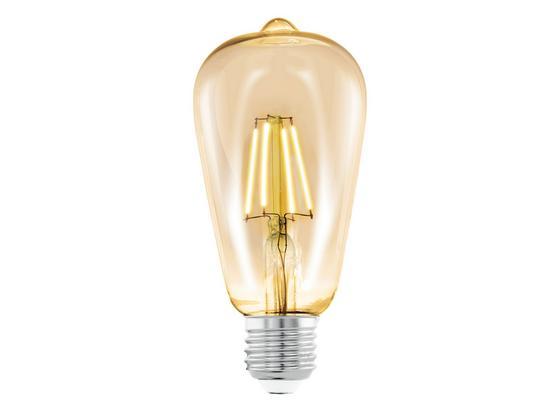 LED-Leuchtmittel 4 W 2200 K 220 lm - Klar, Basics, Glas (14cm)