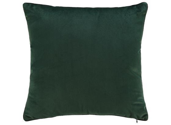 Vankúš Malea 45x45cm I - tmavozelená, Moderný, textil (45/45cm) - Mömax modern living