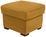 Hocker Queenline 58x45x58cm - Currygelb/Schwarz, KONVENTIONELL, Holz/Holzwerkstoff (58/45/58cm) - James Wood