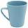 Hrnček Na Kávu Anabel - modrá, Natur, plast/prírodné materiály (8,5/9,5cm) - Zandiara