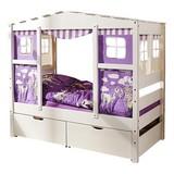 Spielbett Lio Mini 160x80 cm Weiß - Weiß, MODERN, Holz/Kunststoff (80/160cm) - Livetastic