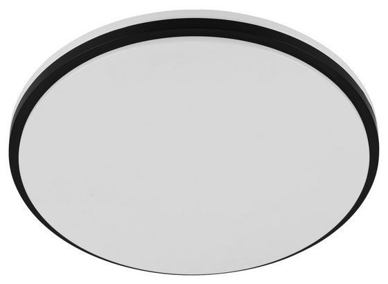 LED-Deckenleuchte Marunella - Schwarz/Weiß, Basics, Kunststoff/Metall (34/6,5cm)