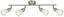 BODOVE SVETLO ELA -EÖ- - farby niklu, kov/sklo (55/8,5/20cm) - MÖMAX modern living