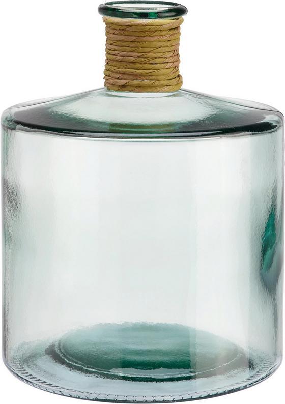 Váza Klara - číra, ďalšie prírodné materiály/sklo (26  cm) - Mömax modern living