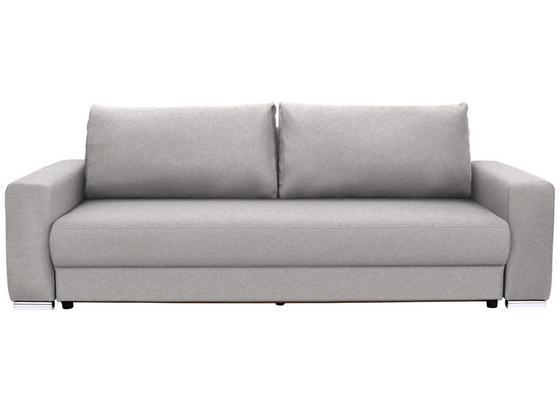 Veľká Pohovka Garcia - svetlosivá/béžová, Moderný, drevo/textil (248/90/103cm) - Luca Bessoni