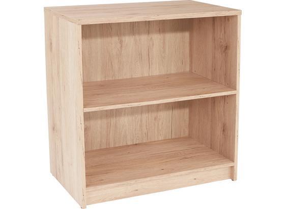 Regál 4-you Yur01 - barvy dubu, Moderní, kompozitní dřevo (74/85,5/34,6cm)