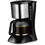 Trisa Filterkaffeemaschine Perfect Glaskanne 12 Tassen - Schwarz, MODERN, Kunststoff (24,5/19/34cm)