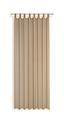 Kombivorhang Verona - Sandfarben, KONVENTIONELL, Textil (140/255cm) - Ombra