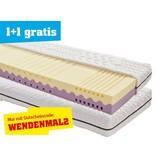 Wendematratze Two-in-one H2/ H3 90x200 - Weiß, MODERN, Textil (200/90/20cm) - PRIMATEX