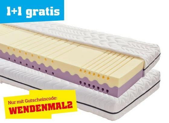 Rollbare Matratze wendematratze two in one h2 h3 90x200 kaufen möbelix