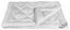 Steppdecke Nature Bamboo 140x200 cm - Weiß, KONVENTIONELL, Textil (140/200cm)