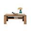 Couchtisch Holz mit Ablagefach Nyon, Eiche/Schwarz - Eichefarben, MODERN, Holzwerkstoff (110/44/70cm)