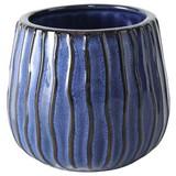 Pflanztopf Aquarel - Blau, Basics, Keramik (17/15cm)
