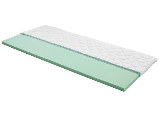 Topper Beta H2 140x200 - Weiß, Textil (140/200cm) - Primatex