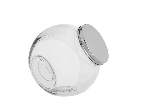 Skleněná Kořenka Antonius -top- - čiré/barvy nerez oceli, kov/sklo (18,5/13/19cm) - Mömax modern living