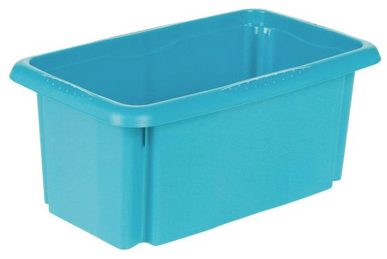 Aufbewahrungsbox Emil - Blau, KONVENTIONELL, Kunststoff (35/20,5/15cm)