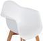 Kinderstuhl Bambino Style Weiß - Buchefarben/Weiß, MODERN, Holz/Kunststoff (42/57,5/30cm) - Ombra
