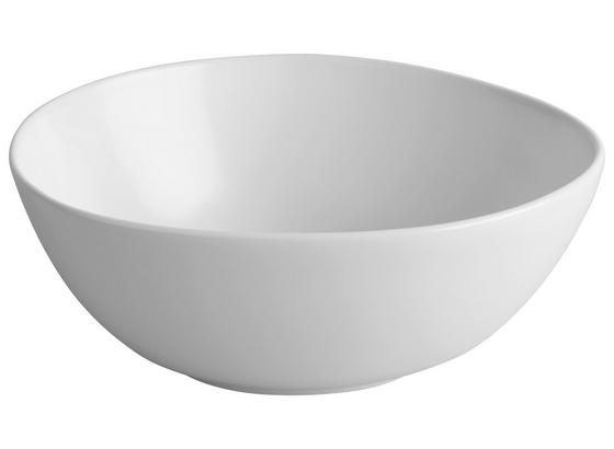 MISKA NELE - biela, Moderný, keramika (19,8/16,8/7,5cm) - Premium Living