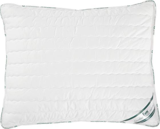 Frankenstolz Kopfpolster Medisan 70x90 cm - Weiß, KONVENTIONELL, Textil (70/90cm) - FAN