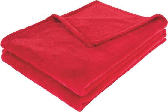 Deka Kuschelix - červená, textil (140/200cm)