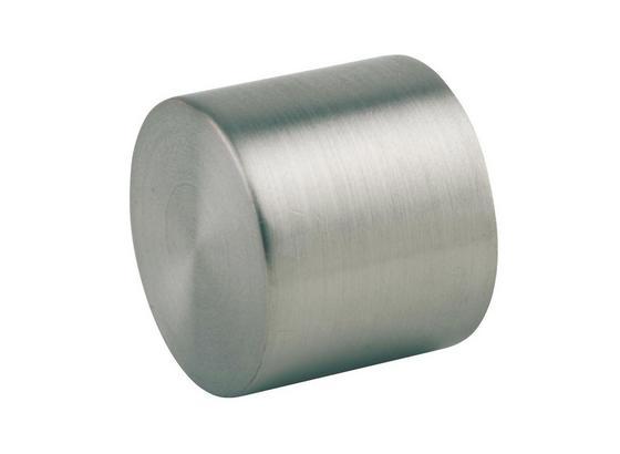 Zakončovací Diel Combi, 2 Ks/balenie - farby ušľachtilej ocele, Moderný, kov (1/1/1cm) - Mömax modern living