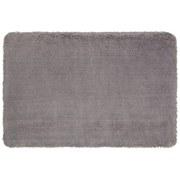 Badematte Asima - Silberfarben, MODERN, Textil (60/90cm) - Luca Bessoni
