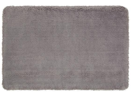 Badematte Asima - Silberfarben, MODERN, Textil (70/120cm) - Luca Bessoni