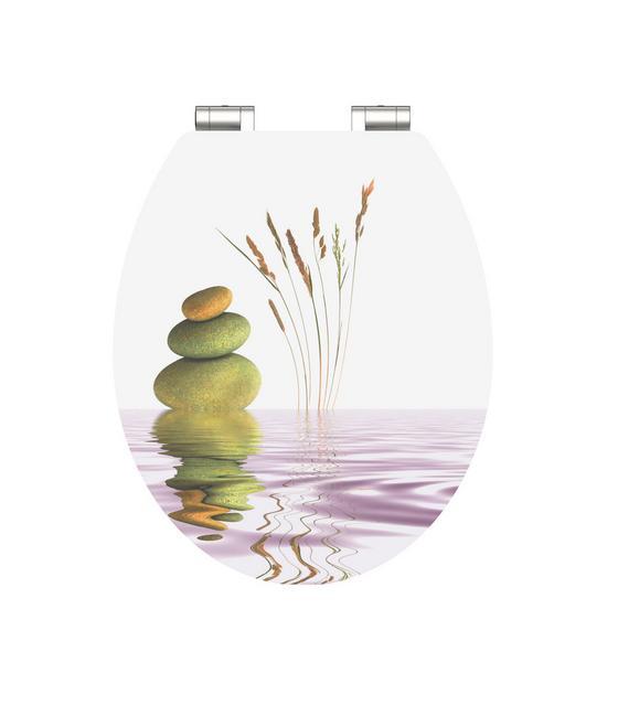 WC-Sitz High Gloss Balance - MODERN, Holzwerkstoff (37/43,5cm)
