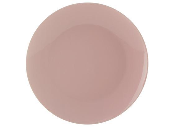 Plytký Tanier Sandy - ružová, Konvenčný, keramika (26,8/2,42cm) - Mömax modern living