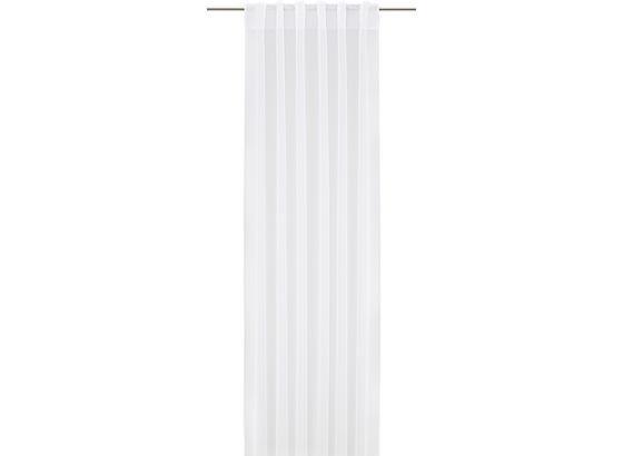 Záves Tosca 2 Stk. -eö- - biela, textil (140/245cm) - Mömax modern living