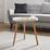 Príručný Stolík Lia - biela/farby pínie, Moderný, drevo (49,5/49,5cm) - Mömax modern living