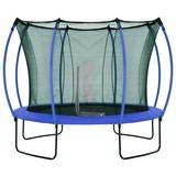 Trampolin Ø: 305cm mit Sicherheitsnetz/ Colour - Blau/Gelb, Basics, Kunststoff/Metall (305/250cm)