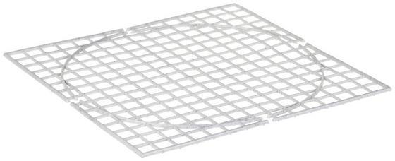 Spülbeckeneinlage Granit - Weiß, KONVENTIONELL, Kunststoff (33/33cm)