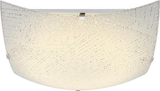 Deckenleuchte Noir - KONVENTIONELL, Glas/Metall (30/30/8,5cm) - James Wood
