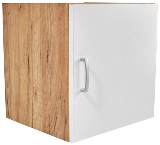 Aufsatzschrank Tio - Eichefarben/Weiß, KONVENTIONELL, Holzwerkstoff (45/43/37,5cm)