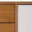Komoda Maris - sivá/biela, Moderný, drevo (120/60/35cm) - Modern Living