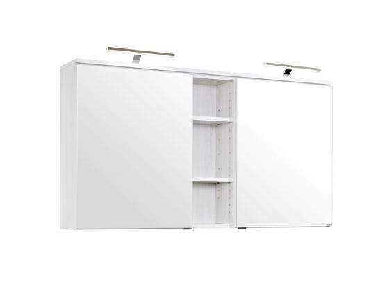 Spiegelschrank Mailand 120 Cm Weiss Online Kaufen Mobelix