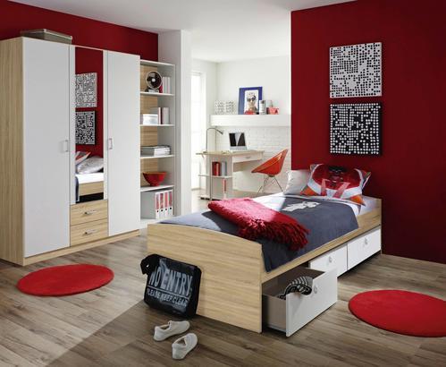Komplettes Jugendzimmer