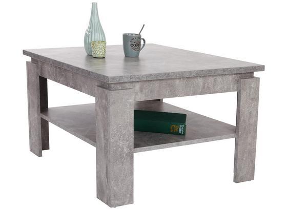 Konferenční Stolek Nizza 1 - světle šedá, Moderní, kompozitní dřevo (70/45/70cm)