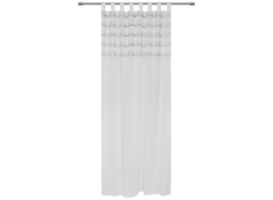 Kombivorhang Lucilla - Grau, MODERN, Textil (140/255cm) - Luca Bessoni