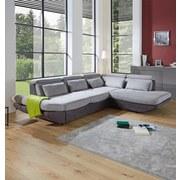 Sedacia Súprava Park - svetlosivá/antracitová, Moderný, textil (311/233cm) - Luca Bessoni