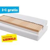 Kaltschaummatratze Lisi 90x200 - Weiß, KONVENTIONELL, Textil (200/90/17cm) - PRIMATEX