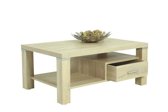 Konferenční Stolek Axel - Sonoma dub, Moderní, dřevěný materiál (104,5/43/67cm)